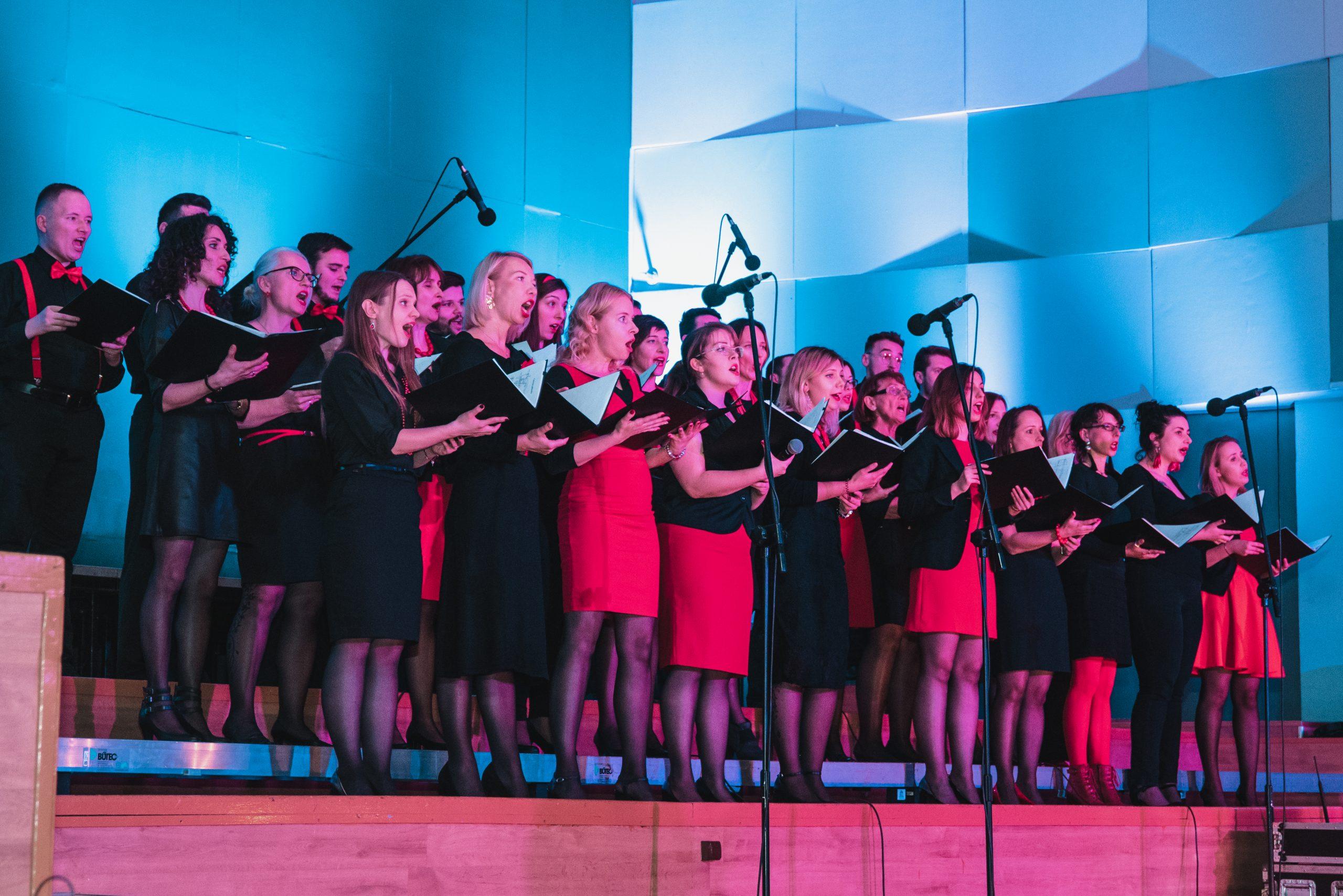 Koncert chóru 14.12-55