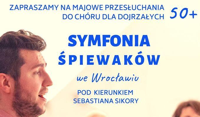 """Nabór do Chóru 50+ """"Symfonia Śpiewaków"""""""