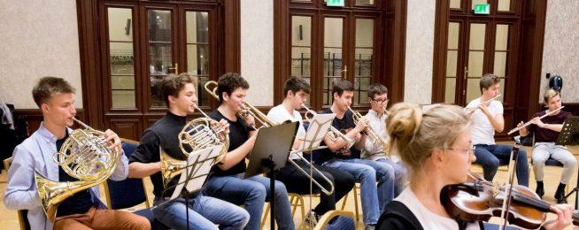 Pierwsze próby naszej Orkiestry Kameralnej