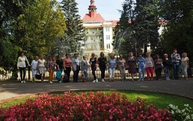 Chór Symfonia Śpiewaków na warsztatach w Polanicy-Zdroju