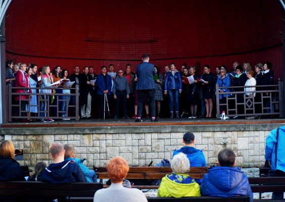 Spotkanie czterech chórów w Polanicy-Zdroju